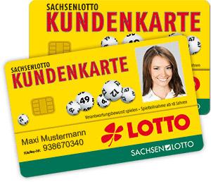 Sachsenlotto Kundenkarte