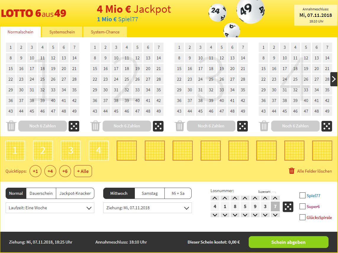 Lottostiftung Lottohelden.de Spielschein